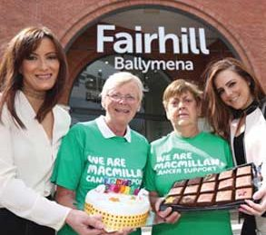 Fairhill's Charity of the Year – Macmillan Cancer Support!