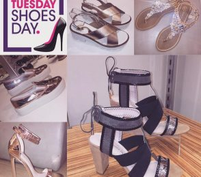 Metallic Sandals #TuesdayShoesday