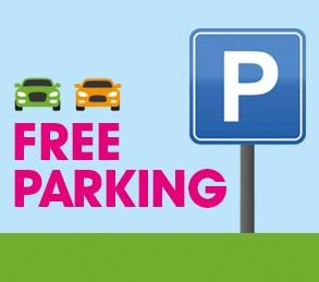 FREE parking is back!
