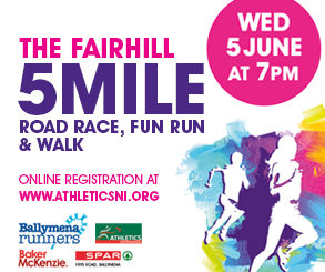 <h2>5 Mile Road Race, Fun Run &amp; Walk</h2> <p>To get involved and take part download your entry form today! Click Here.</p> <p>&nbsp;</p> <p>&nbsp;</p> <p>&nbsp;</p>
