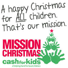 Mission Christmas Cash for Kids at Fairhill