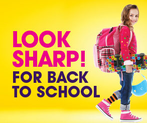 <h2>BACK TO SCHOOL WITH FAIRHILL</h2> <p>Look sharp with all your back to school essentials under one roof!</p>