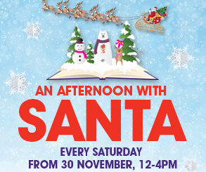 <h2>VISIT SANTA AND FRIENDS</h2> <p>Watch Christmas come to life at Fairhill with our magical Santa & Friends events!</p> <p></p> <p></p>