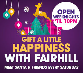 Christmas Trading Hours at Fairhill
