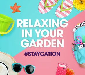 #Staycation Tips 3: Relaxing in the Garden